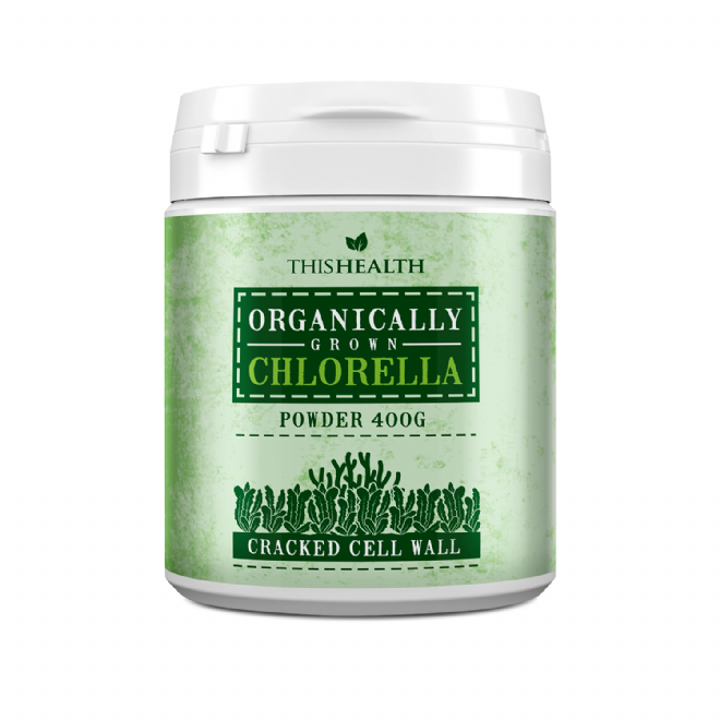 Organic Chlorella Powder - 400g